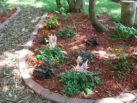 garden bite » blog archive » when to mulch for winter, Natural flower