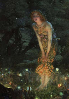 firefly with fairy