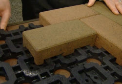 pavers made with recycled tires