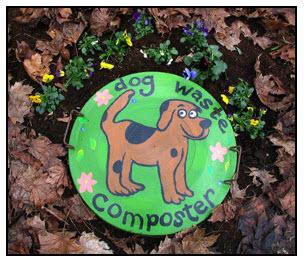 dog waste composter